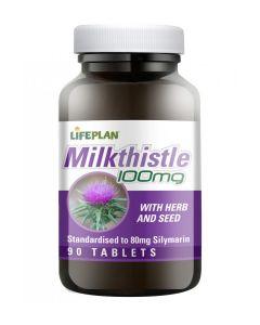 Lifeplan - Milk thistle 100mg - 90 Tabs
