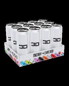 *PROMO* 3D Energy White x 12