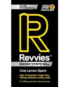 Revvies Energy Strips Cola Lemon 100 mg (1 x 5Pk)