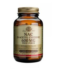 Solgar - NAC (N-Acetyl Cysteine) 600 mg - 60 Veg Caps