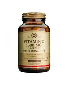 Solgar - Vitamin C 1500 mg with Rose Hips - 90 Tabs