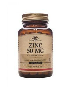 Solgar - Zinc 50mg 100 Tabs