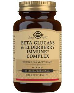 Solgar Beta Glucans & Elderberry Immune Complex Veg 60 Caps