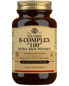 Solgar - Vitamin B-Complex 100mg - 100 Veg Caps
