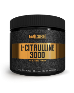 5% CORE L-Citrulline 3000 (60 Servings)