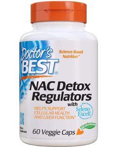 Doctor's Best NAC Detox Regulators 60 Veggie Caps