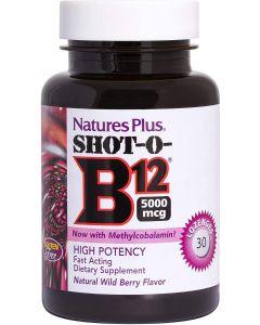 Nature's Plus Shot O B12 - 30 Lozenges