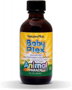 Nature's Plus Animal Parade Source of Life Baby Plex - Orange Flavour - 60ml