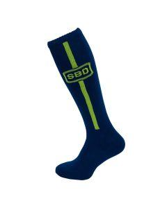 SBD - Deadlifting Sock (Navy/ Yellow)