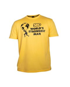 SBD World's Strongest Man T-shirt Heats (Sunrise Yellow)