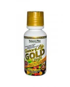 Nature's Plus Source of Life Gold Liquid Tropical Fruit - 8fl