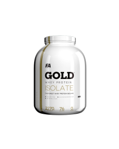 Fitness Authority - Gold Whey Protein Isolate - 2.27kg