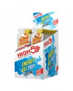 HIGH5 ENERGY GEL AQUA + CAFFINE HIT 100MG - 66ML (BOX 20)