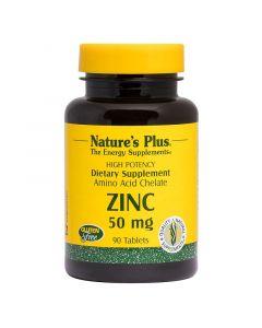 Nature's Plus - Zinc 50mg - 90 Tabs
