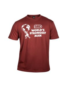 SBD World's Strongest Man T-shirt Final's (Fire Brick)