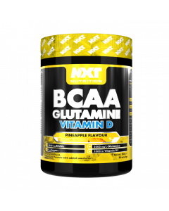 NXT Nutrition BCAA, Glutamine Vit-D (30 Serv)