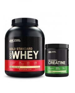 Optimum Nutrition - Gold Standard 100% - 5lb + FREE Creatine