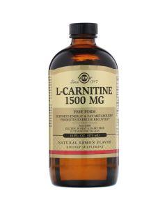 Solgar  L-Carnitine (Free Form) Natural Lemon Flavour -  473ml