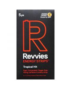 Revvies Energy Strips Tropical Hit 40mg (1 x 5Pk)