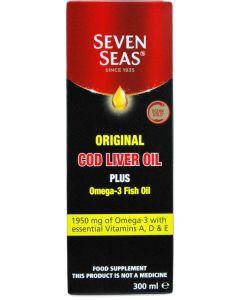 Seven Seas Cod Liver Oil + Omega 3 300ml