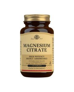 Solgar Magnesium Citrate 120 tabs