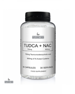 SUPPLEMENT NEEDS - TUDCA AND NAC - 30 SERVINGS