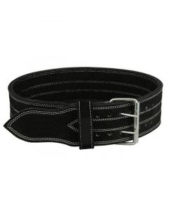 Urban Gym Wear Strong Leather Belt - Black