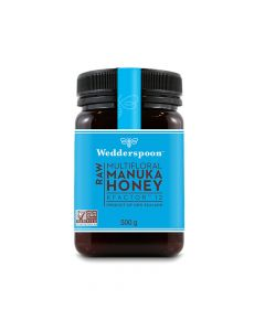 Wedderspoon RAW Manuka Honey KFactor 12+  500g