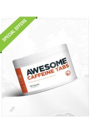 Awesome Supplements - Caffeine - 100 Caps