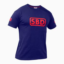 SBD T-Shirt (Limited Edition Navy/red) (Male)